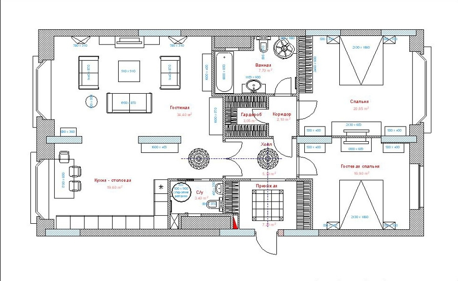 сайт - Схема квартиры